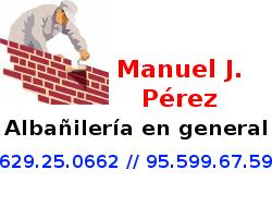 Manuel Jesús Pérez - Albañilería